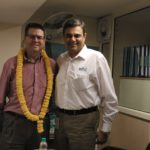 Mr.Russell, from The Shepherd Color Co. visit to India !!