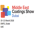 MIDDLE EAST COATINGS SHOW DUBAI 2018